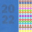 2022 Weekly Pocket Appointment Planner / Calendar / Organizer - With 100 Stickers  (Edition #4)