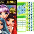 Rainbow High - Jumbo Coloring & Activity Book + Award Stickers and Charts