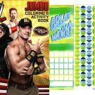WWE Coloring & Activity Book - Coloring & Activity Book + Award Stickers
