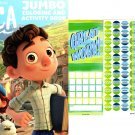 Luca - Jumbo Coloring & Activity Books + Award Stickers and Charts