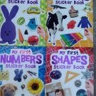 Flowerpot Press My First Sticker Book Collection (Assorted, Titles & Quantities Vary)