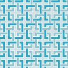 Magnetic Locker Wallpaper (Full Sheet Magnetic) - Geometric - Pack of 3 Sheets - vr04