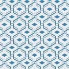 Magnetic Locker Wallpaper (Full Sheet Magnetic) - Geometric - Pack of 3 Sheets - vr06