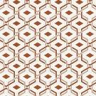 Magnetic School Locker Wallpaper (Full Sheet Magnetic) - Geometric - Pack of 3 Sheets - vr07