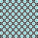 Magnetic School Locker Wallpaper (Full Sheet Magnetic) - Geometric - Pack of 3 Sheets - vr012