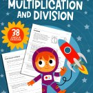 Teaching Tree Multiplication and Division - Word Problems Reproducible Educational Workbook