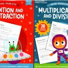 Addition and Subtraction Grade 1-2 + Multiplication and Division Grade 3-4 - Workbook