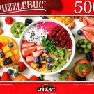 Rainbow Breakfast - 500 Pieces Jigsaw Puzzle