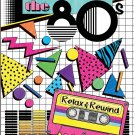Bendon 16929 The 80's Advanced Coloring Book