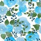 Magnetic School Locker Wallpaper (Full Sheet Magnetic) - Flowers - Pack of 3 Sheets - vr15