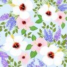 Magnetic School Locker Wallpaper (Full Sheet Magnetic) - Flowers - Pack of 3 Sheets - vr16