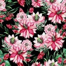 Magnetic School Locker Wallpaper (Full Sheet Magnetic) - Flowers - Pack of 3 Sheets - vr21