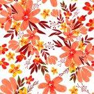 Magnetic School Locker Wallpaper (Full Sheet Magnetic) - Flowers - Pack of 3 Sheets - vr22