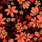 Magnetic School Locker Wallpaper (Full Sheet Magnetic) - Flowers - Pack of 3 Sheets - vr23