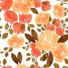 Magnetic School Locker Wallpaper (Full Sheet Magnetic) - Flowers - Pack of 3 Sheets - vr26