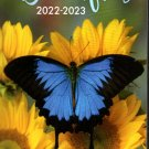 Butterflies 2022 - 2023 2 Year Pocket Planner / Calendar / Organizer - Monthly Page Format