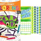Creepy-Crawly - Coloring Book + Award Stickers and Charts
