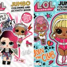 L.O.L. Surprise - Jumbo Coloring & Activity Book (Set of 2 Books)