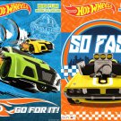 Hot Wheels - Big Fun Book to Color - So Fast, Go for It! (Set of 2 Books)