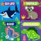 Bugs, Dinosaurs, Sea Life, Animals - Children's Board Book (Set of 4 Books)