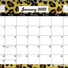 2022 Monthly Spiral-Bound Wall / Desk Calendar - 12 Months - v4