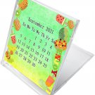 2021 - 2022 CD-Style Desk Calendar 16 Months Calendar / Planner / (Edition #025)