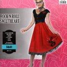 Costume Rock N Roll Sweetheart Adult S 6-8