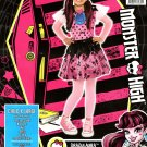 Draculaura Monster High Child's 4 Piece Costume X-Large