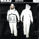 Disney Star Wars Stormtrooper Adult Jumpsuit One piece Costume Pajamas L/XL NEW