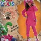 Ugly Dolls Moxy Costume Pink Child Medium 8-10 Halloween