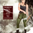 Adult Lara Croft Costume - Tomb Raider Video Game Small 2-4