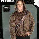 Disney Star Wars Chewbacca Halloween Hoodie Costume Cosplay Adult S/M - NEW!