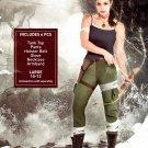 Adult Lara Croft Costume - Tomb Raider Video Game Large 10-12