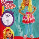 Nickelodeon Sunny Day stylist costume Toddler 3-4