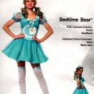 Care Bears 2 Piece Bedtime Bear Costume Halloween, Light Blue, S/M