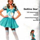 Care Bears 2 Piece Bedtime Bear Costume Halloween, Light Blue, M/L