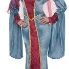 Renaissance Queen Halloween Costume - Adult Woman Size: Medium 6-8