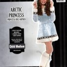 Artic Princess 3 piece Halloween Costume - Child Medium 8-10