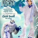 Small Foot Meechee Child Costume Size SMALL (4-6) NEW 4 Piece Set Halloween