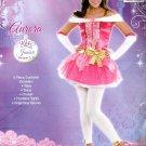 Disney Princess Aurora Junior Medium 7-9 costume Halloween NWT