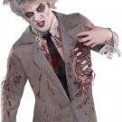 Zombie Shirt Costume Starter Halloween Fancy Dress Adult Standard Size
