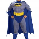Child Deluxe Muscle Chest Batman Halloween Costume Small 3-4