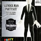 Mens Slender Man Costume Suit Halloween Dress Teens Boys Medium