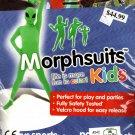 "Morphsuits Glow Alien Kids Fancy Dress Costume Halloween Medium 3'6""-3'11"""