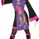 Girls Sassy Samurai Costume - X-Large (14-16) Halloween Costume