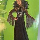 Rubies Girls Spider Countess Halloween Costume 10-12
