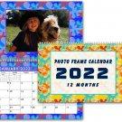 2022 Photo Frame Wall Spiral-bound Calendar - (Edition #003)
