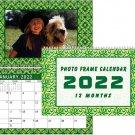 2022 Photo Frame Wall Spiral-bound Calendar - (Edition #06)