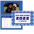 2022 Photo Frame Wall Spiral-bound Calendar - (Edition #07)