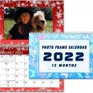 2022 Photo Frame Wall Spiral-bound Calendar - (Edition #08)